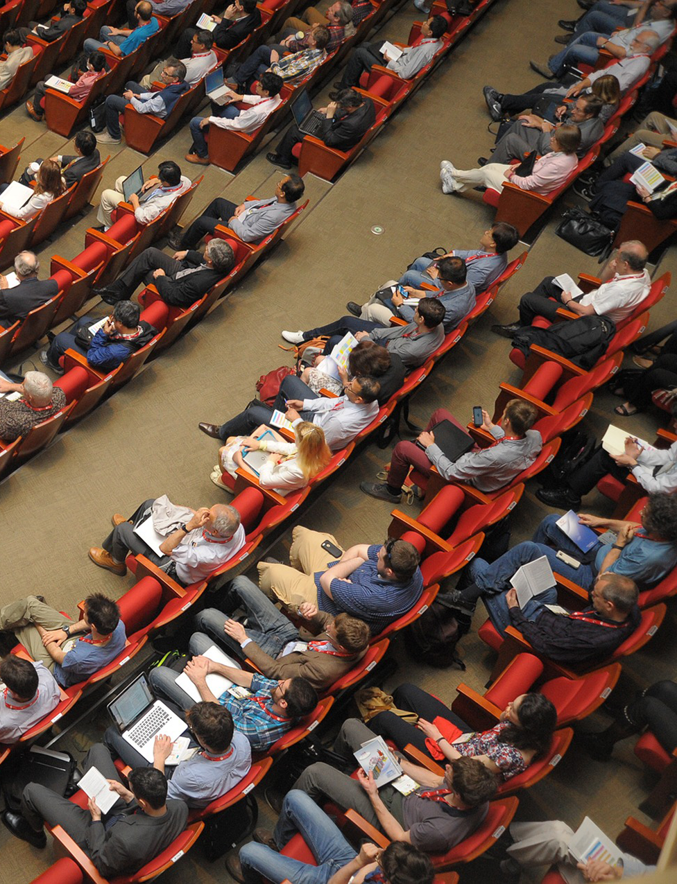 seminar, lecture, audience