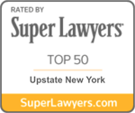 Joseph LaTona Super Lawyers Badge Top 50 Upstate New York